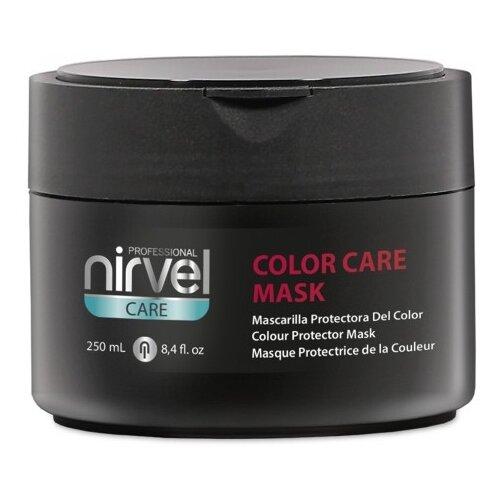 Фото - Nirvel Color Care Programme Маска для окрашенных волос, 250 мл nirvel корректор косметического цвета кислая смывка color out 2х125 мл