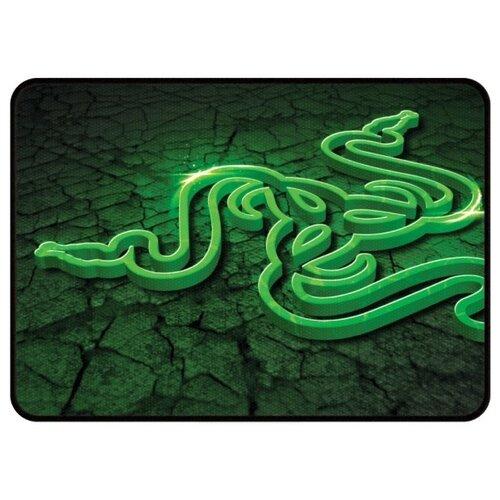 Коврик Razer Goliathus Control Fissure Medium черно-зеленый коврик для мыши razer goliathus control fissure edition large