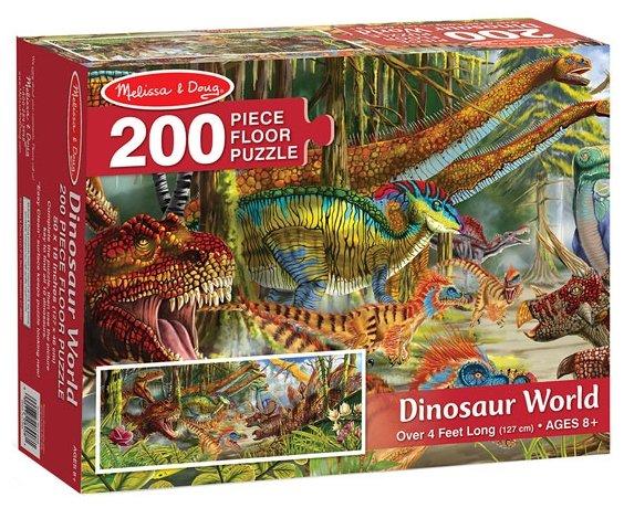 Пазл Melissa & Doug Мир динозавров (8908), 200 дет.
