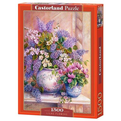 Купить Пазл Castorland Lilac Flowers (C-151653), 1500 дет., Пазлы