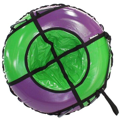 Тюбинг Hubster Sport Plus 105 см фиолетовый/зеленый