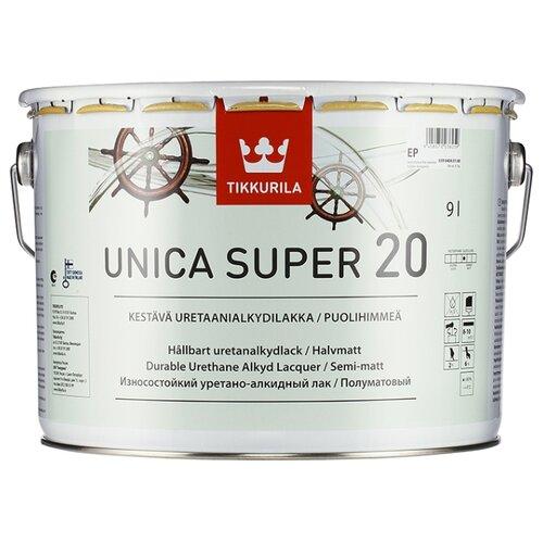 Купить со скидкой Лак Tikkurila Unica Super 20 9 л