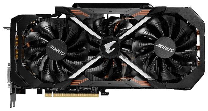 GIGABYTE GeForce GTX 1080 Ti 1632Mhz PCI-E 3.0 11264Mb 11448Mhz 352 bit DVI 3xHDMI HDCP Aorus Xtreme