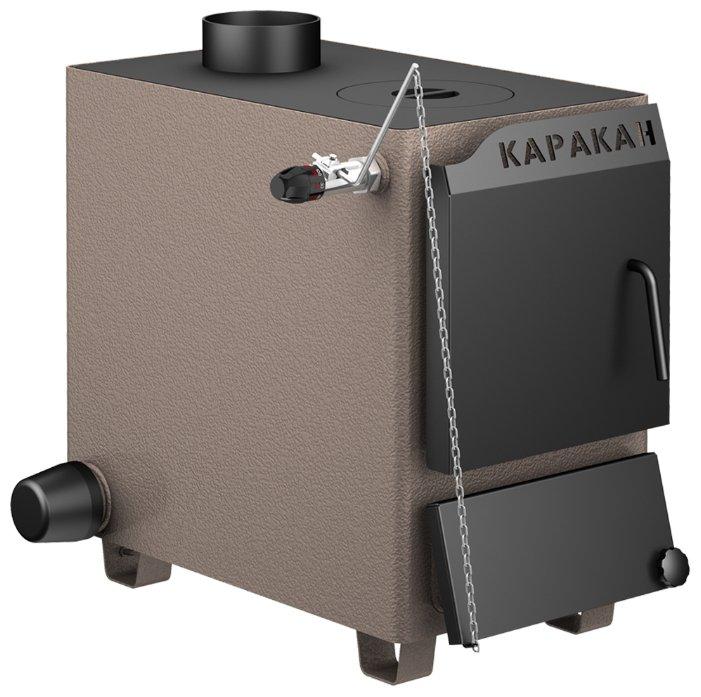Твердотопливный котел Каракан 8ТПЭ 3, 8 кВт, одноконтурный фото 1