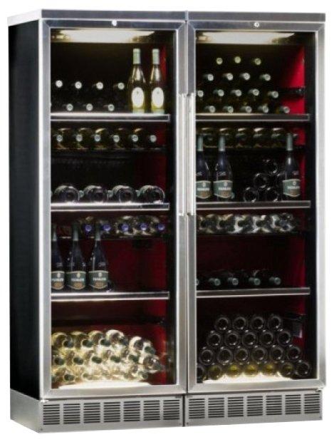 Встраиваемый винный шкаф IP INDUSTRIE CIS 141 CF X