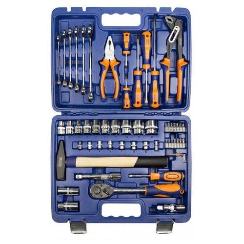 Набор инструментов Helfer (56 предм.) HF000013 набор инструмента helfer 1 2dr и 1 4dr 99 предметов hf000016