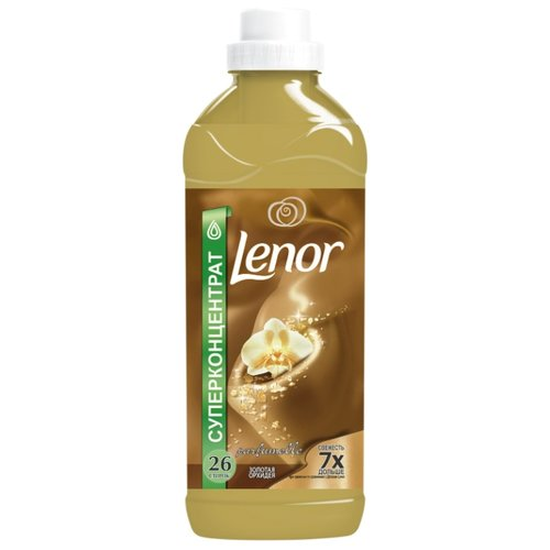 Концентрированный кондиционер для белья Золотая орхидея Lenor 0.93 л флаконКондиционеры и ополаскиватели<br>