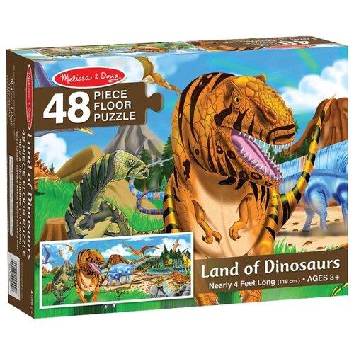 Купить Пазл Melissa & Doug Мир динозавров (442), 48 дет., Пазлы