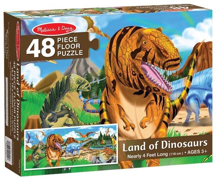 Пазл Melissa & Doug Мир динозавров (442), 48 дет.