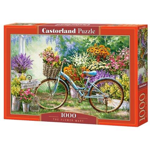 Купить Пазл Castorland The Flower Mart (C-103898), 1000 дет., Пазлы