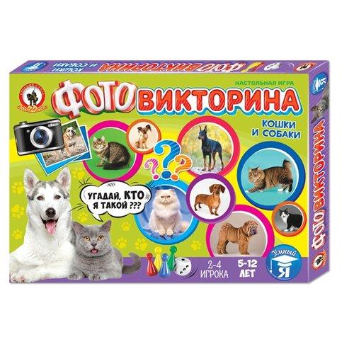 Настольная игра Русский стиль Кошки и собакиНастольные игры<br>