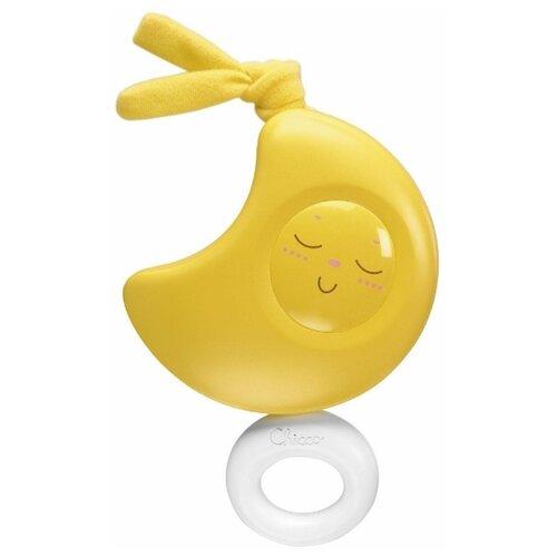 Купить Подвесная игрушка Chicco Луна (1192) желтый, Подвески