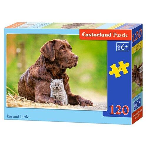 Купить Пазл Castorland Big and Little (B-13326), элементов: 120 шт., Пазлы