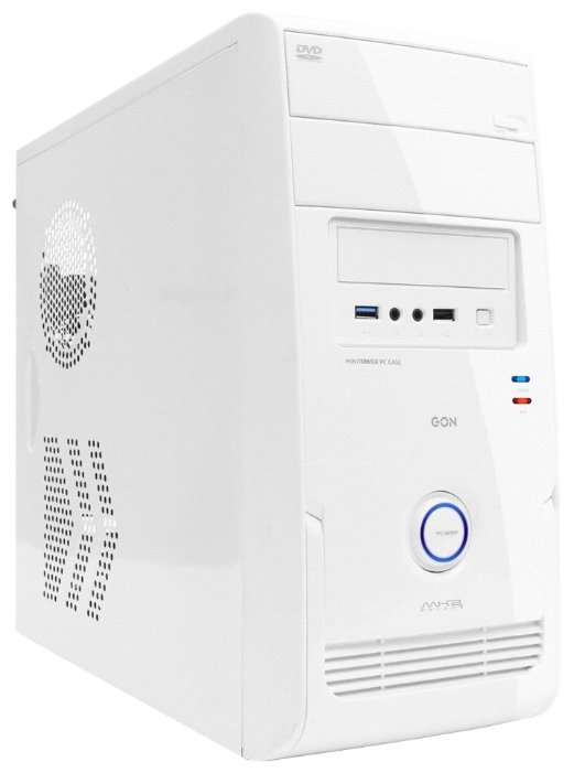 PowerCool Компьютерный корпус PowerCool S6020-W 500W