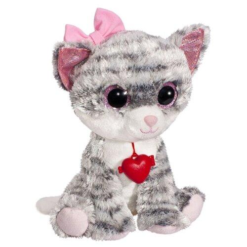 Мягкая игрушка Fancy Кошечка Фенсик серая с сердечком 24 см, Мягкие игрушки  - купить со скидкой