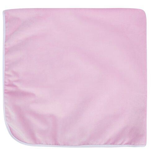 Многоразовые пеленки Bamboola непромокаемая велюр 75x75 розовый.