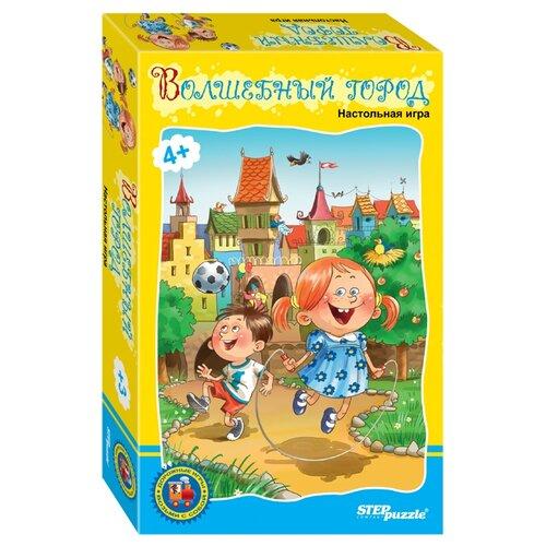 Купить Набор настольных игр Step puzzle Волшебный город, Настольные игры