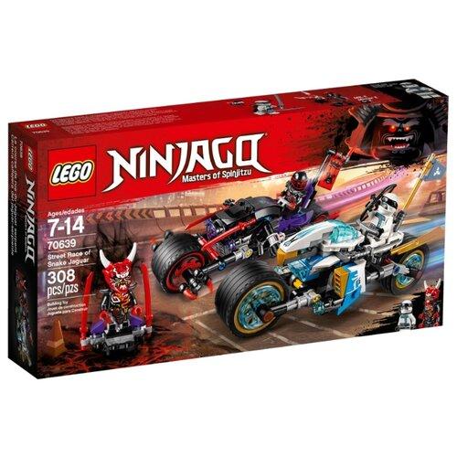 Конструктор LEGO Ninjago 70639 Уличная погоняКонструкторы<br>