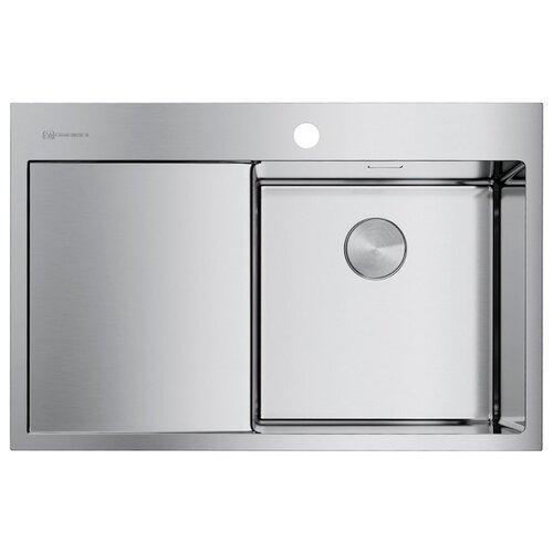 Врезная кухонная мойка 78 см OMOIKIRI Akisame 78-IN-R нержавеющая сталь врезная кухонная мойка 78 см omoikiri akisame 78 in l нержавеющая сталь