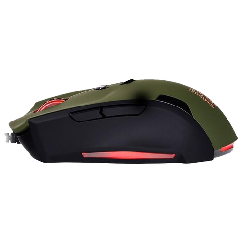 Мышь Tt eSPORTS by Thermaltake Theron Gaming Mouse Black-Green USB
