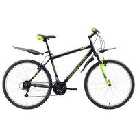 Велосипед Challenger Agent 26 (2018) Чёрный/зелёный/голубой 20''
