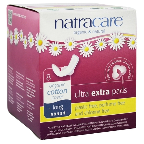 Natracare прокладки Long Ultra Extra Pads