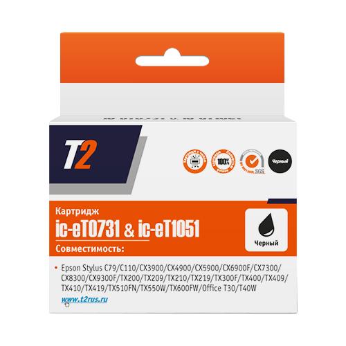 Фото - Картридж T2 IC-ET0731/IC-ET1051, совместимый мешок для пылесоса ozone xt 308