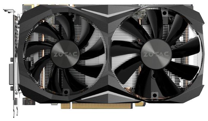 Видеокарта ZOTAC GeForce GTX 1080 Ti 1506Mhz PCI-E 3.0 11264Mb 11010Mhz 352 bit DVI HDMI HDCP Mini