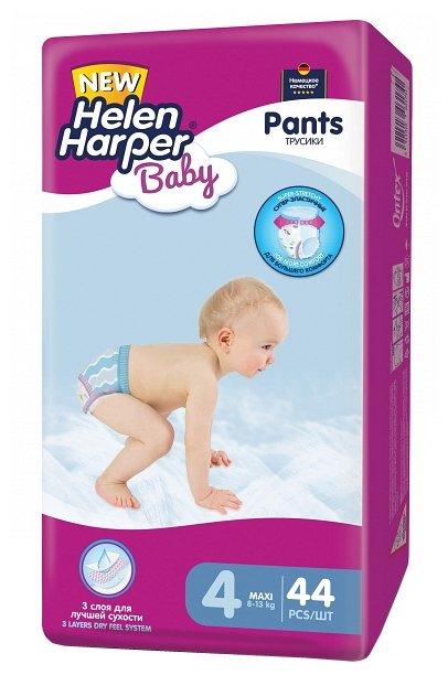 Helen Harper Baby трусики 4 (8-13 кг) 44 шт.