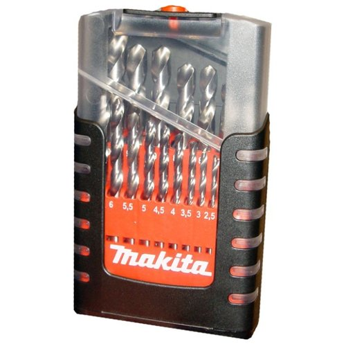 Фото - Набор сверл Makita D-29876, 19 шт набор сверл по металлу makita d 29876 1 10мм 19шт