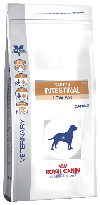 Корм для собак Royal Canin Gastro Intestinal Low Fat LF22