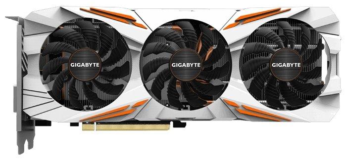 GIGABYTE Видеокарта GIGABYTE GeForce GTX 1080 Ti 1506Mhz PCI-E 3.0 11264Mb 11010Mhz 352 bit DVI HDMI HDCP Gaming
