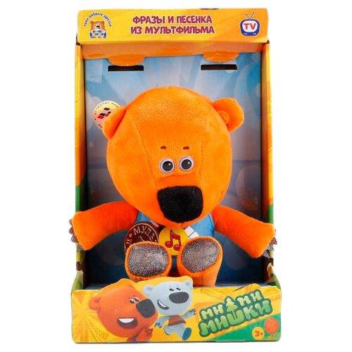 Мягкая игрушка Мульти-Пульти Ми-ми-мишки Медвежонок Кеша 20 см в коробке мягкая игрушка мульти пульти попугай кеша 18 см
