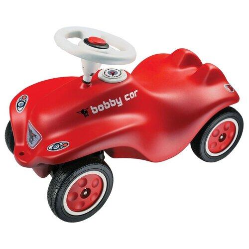 Купить Каталка-толокар BIG New Bobby Car Red (56200) со звуковыми эффектами красный, Каталки и качалки