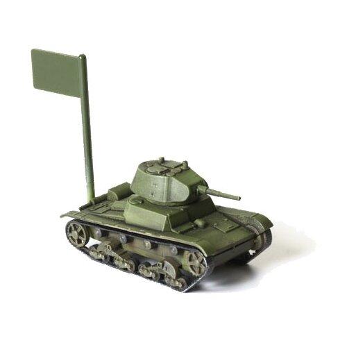 Сборная модель ZVEZDA Советский легкий танк Т-26 (6113) 1:100