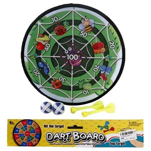 Купить Дартс Shantou Gepai Насекомые с шариками-липучками (338-4), Спортивные игры и игрушки