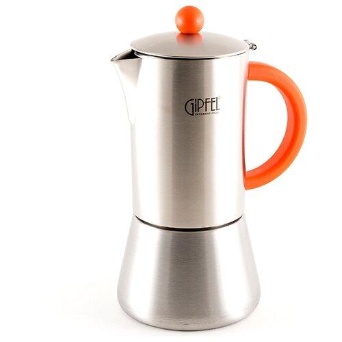 Гейзерная кофеварка GIPFEL Crupp 5318 500 мл, оранжевый
