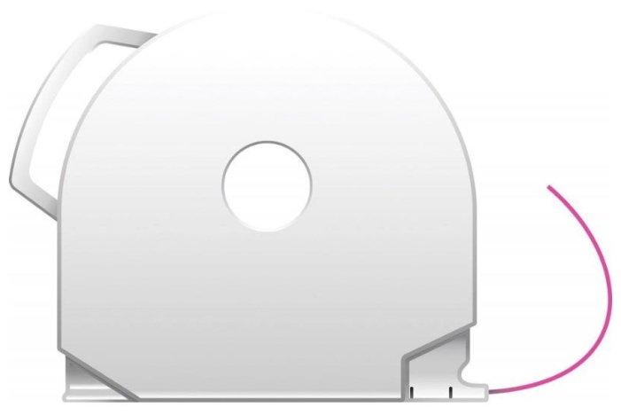 PLA пруток 3D Systems CubePro 1.75 мм розовый