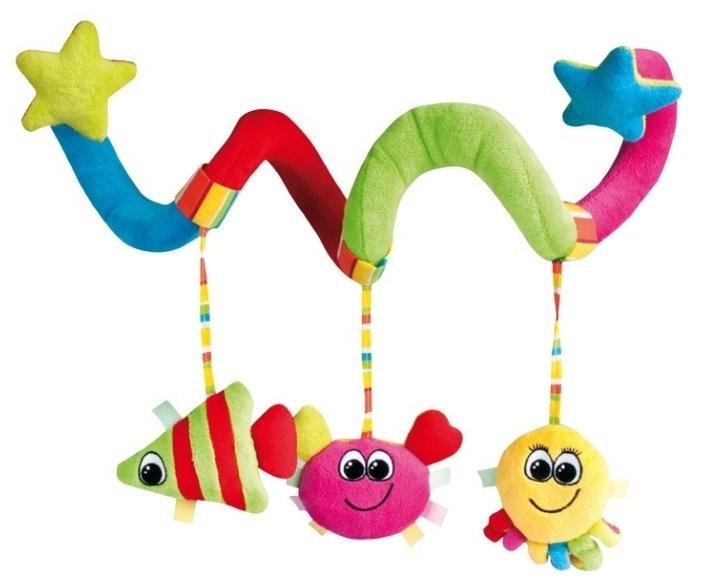 Подвесная игрушка Canpol Babies Мягкая спираль (68/013)