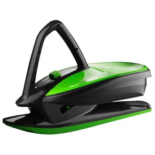 Купить Снегокат Gismo Riders Skidrifter черный/зеленый, Снегокаты