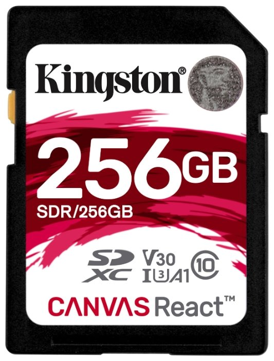 Карта памяти Kingston SDR/256GB