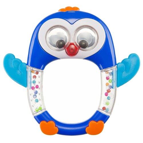 Купить Прорезыватель-погремушка Happy Baby Penguin Lo-Lo разноцветный, Погремушки и прорезыватели