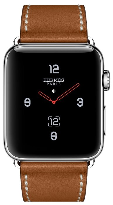 Часы Apple Watch Hermes Series 3 42mm with Single Tour Deployment Buckle