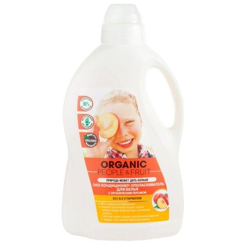 Эко кондиционер-ополаскиватель для белья с органическим персиком Organic People 1.5 л флакон