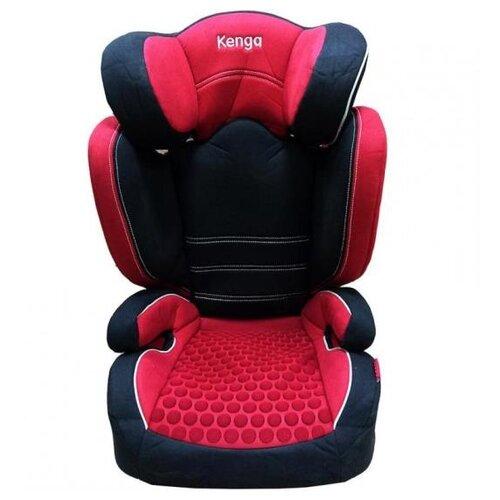 Автокресло группа 2/3 (15-36 кг) Kenga BH2311i premium Isofix, красный группа 1 2 3 от 9 до 36 кг kenga bh 12312i isofix