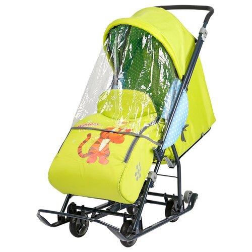 Фото - Санки-коляска Nika Disney baby 1 (DB1) санки nika тимка 5 универсал т5у синий