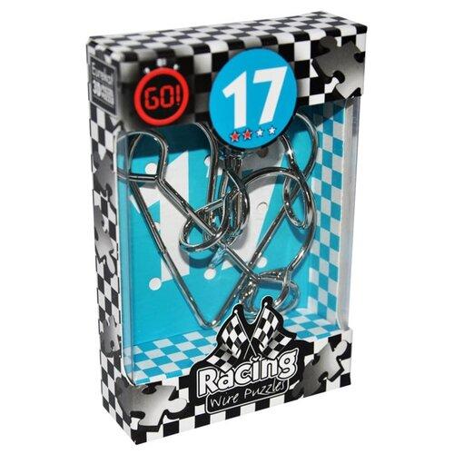 Купить Головоломка Eureka 3D Puzzle Racing Wire Puzzles 17 сложность 2 (473287) серый, Головоломки