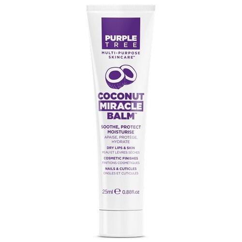 Purple Tree Бальзам для губ Coconut miracle purple tree бальзам для губ и кожи miracle кокос 25 мл purple tree miracle balms