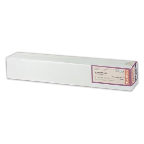 Фото - Холст Lomond 610 мм XL Natural Canvas Dye 1207011 300 г/м² 10 м., белый холст lomond xl natural canvas dye 400 мкм 0 610x10 м 50 8 мм 1207011