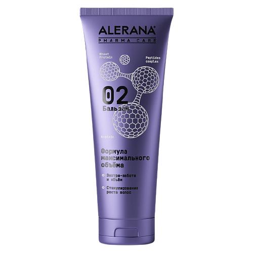 Alerana бальзам для волос Pharma Care Формула максимального объема, 260 мл